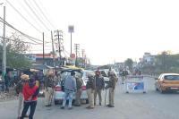 लोकसभा चुनावों के मद्देनजर कमिश्नरेट पुलिस ने शहर के सभी एंट्री प्वाइंट किए सील