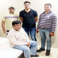 9 लाख की धोखाधड़ी मामले का आरोपी मुम्बई से गिरफ्तार