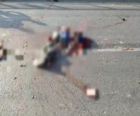 तेज रफ्तार ट्रक ने बाइक को मारी जोरदार टक्कर, 4 युवकों की दर्दनाक मौत