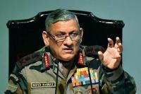 जन भावनाओं से नहीं, राजनीतिक निर्णयों पर काम करती है सेना : जनरल रावत