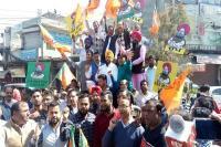 अकाली-भाजपा ने कैप्टन सरकार के 2 वर्ष पूरे होने पर रोष मार्च निकाल मनाया विश्वासघात दिवस