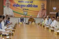 भाजपा केंद्रीय चुनाव समिति की बैठक में 12 राज्यों के उम्मीदवार तय