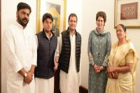 कांग्रेस ने यूपी में किया अपना दल से गठबंधन, 2 सीटों पर लड़ेगी चुनाव