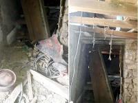 हल्यातर में गैस सिलैंडर फटा, रसोईघर की छत उड़ी