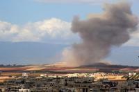 सीरिया में अमेरिका नीत गठबंधन बल के हमले में 10 लोगों की मौत