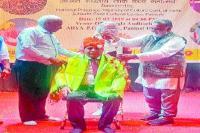 प्राचार्य डा. रामपाल को मिला हरियाणवी लोक साहित्य एवं संस्कृति सम्मान