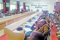 लोकसभा चुनाव को लेकर प्रशासन ने मंगवाई बी.एस.एफ. व आई.आर.बी. की 2 प्लाटून