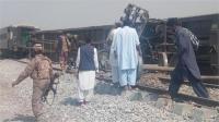 पाक में रेल पटरियों पर विस्फोट , 4 की मौत