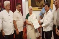 गोवा में कांग्रेस के 14 विधायकों ने राजभवन तक किया मार्च