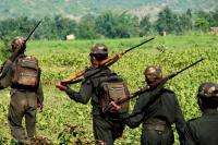 छत्तीसगढ़ जिले में नक्सलियों के हमले में सीआरपीएफ के छह जवान घायल
