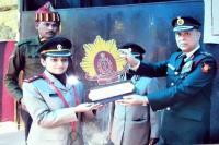 आर्मी मैडीकल में लैफ्टीनैंट बनी बेटी का मेजर जनरल ने किया सम्मान