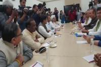 लोकसभा चुनाव: कांग्रेस की कॉआर्डिनेशन कमेटी ने दिल्ली में की बैठक
