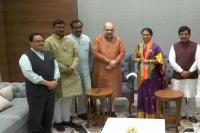 तेलंगानाः कांग्रेस को बड़ा झटका, पूर्व मंत्री भाजपा में शामिल