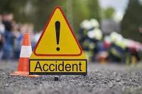 जीप के टायर फटने से घटा दर्दनाक हादसा, 2 की मौत 5 घायल