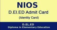 NIOS DELEd Admit Card 2019: 5th सेमेस्टर के ऐडमिट कार्ड जारी, यहां करें डाउनलोड