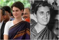 सफलता के लिए दादी इंदिरा का अनुसरण कर रही हैं प्रियंका