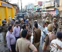 बरेली में राम बारात पर पथराव के बाद तनाव, बड़ी तादाद में सुरक्षाबल तौनात