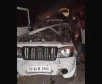 बहराइच में हुआ भीषण सड़क हादसा, 5 तीर्थयात्रियों की मौके पर दर्दनाक मौत