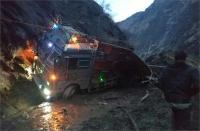 Doda में लैंडस्लाइड की चपेट में आया ट्रक, 2 की दर्दनाक मौत