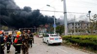 चीन केमिकल विस्फोट में मरने वालों की संख्या बढ़कर 64 हुई, 24 लापता