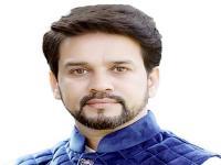 टिकट के ऐलान के बाद अनुराग ठाकुर दिल्ली रवाना, जीत का चौका लगाने का किया दावा