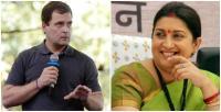 ट्विटर पर छिड़ी जंग- राहुल पर स्मृति ने कसा तंज, बोलीं- 'भाग राहुल भाग', कांग्रेस ने भी किया पलटवार