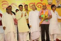 ओडिशाः पूर्व डीजीपी प्रकाश मिश्रा ने थामा भाजपा का दामन