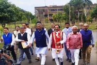 लोकसभा चुनावः हरिद्वार से BJP प्रत्याशी ''निशंक'' ने भरा नामांकन, जनसभा को किया संबोधित