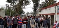 सी.डी.ओ. के खिलाफ रेल कर्मियों का प्रदर्शन अभियान लगातार जारी, मंडल अधिकारी खामोश