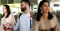 viral video: एयरपोर्ट पर विराट कोहली संग इस अंदाज में नजर आईं सनी लियोन