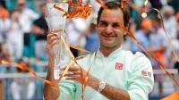 Miami Open:  रोजर फेडरर ने रचा इतिहास, करियर का 101वां खिताब जीता