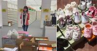 महिला ने बाढ़ पीड़ितो के लिए खरीद डाला शू स्टोर का पूरा स्टॉक