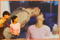 Photos: सनी लियोन को यूं किया पति ने Kiss, कुछ खास है वजह