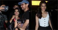 Airport Photos: आमिर की फैंस के साथ सेल्फी, कृति का ऐसे हुआ arrival