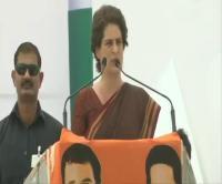 सरकार आने पर कांग्रेस लायेगी बड़ी योजनाएं: प्रियंका गांधी