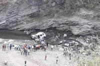 ऋषिकेश-गंगोत्री हाईवे पर सूमो के खाई में गिरने से 3 लोगों की मौत, कार के उड़े परखच्चे