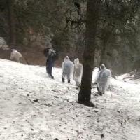 Churdhar Yatra पर निकले 2 ट्रैकर लापता, बारिश-बर्फबारी के बावजूद Rescue operation जारी(Video)