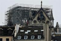 नॉट्र डाम कैथेड्रल अग्निकांडः चर्च दोबारा बनाने के लिए जुटा 70 करोड़ डॉलर फंड