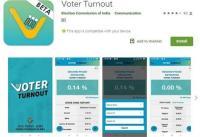 चुनाव आयोग ने लॉन्च की Voter Turnout एप्प