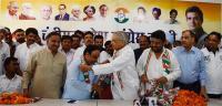 भाजपा से निष्कासित कैंथ ने थामा कांग्रेस का हाथ