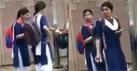 दिल्ली की सड़कों पर स्कूल ड्रेस में दिखीं दीपिका, वायरल Video में पहचानना हुआ मुश्किल