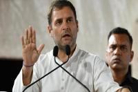 पांच साल में देश में 'अच्छे दिन'' का नारा बदल गया :राहुल गांधी