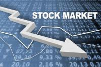 शेयर बाजार में भारी गिरावट, सेंसेक्स 495 अंक लुढ़क कर बंद