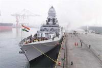 चीनी नौसेना की परेड में शामिल हुए भारतीय युद्धपोत,पाक-अमरीका रहे दूर