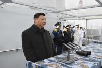 चीनी नौसेना की परेड के दौरान पाकिस्तानी जहाजों की गैरमौजूदगी पर चीनी सेना की चुप्पी