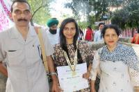 हिमाचल के कांगड़ा जिले की इस छात्रा ने हासिल किया दूसरा गोल्ड मैडल