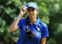 गोल्फ : अदिति संयुक्त 35वें स्थान पर