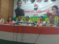 महिला कांग्रेस की राष्ट्रीय अध्यक्ष ने जयराम से मांगा इस्तीफा