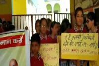 मतदान को लेकर स्कूली बच्चों ने निकाली जागरुकता रैली