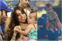 Video: चौथी बार IPL जीतने के बाद रोहित ने सबसे पहले बेटी संग मनाई जीत की खुशी